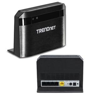 TRENDnet Wireless AC750 Dual Band Router, 733 Mbps Total Wireless, Pre-Encrypted,  TEW-810DR