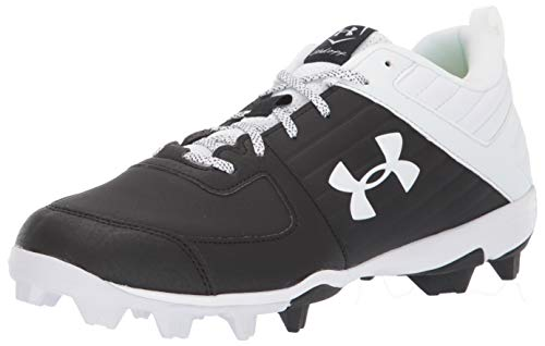 Under Armour Men's Leadoff Low RM Running Shoe, Black (001)/White, 8.5