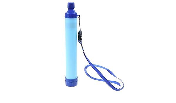 Filtro de Agua Potable de popote Militar 99,99% purificador de ...