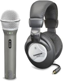 Samson Q2U Mic and Headphone Bundle
