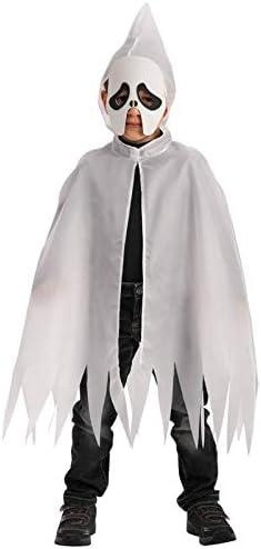 Carnival Toys - Juego fantasma: capa con capucha y máscara de foami en bolsa, 70 cm, color blanco (663): Amazon.es: Juguetes y juegos