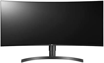 LG 34WN80C-B 34 inch 21:9 Curved UltraWide WQHD IPS Monitor with USB Type-C Connectivity sRGB 99 proportion Color Gamut and HDR10 Compatibility, Black