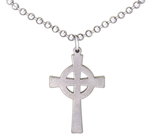 Celtic Cross Jewelry (G.I. Jewelry Stainless Steel Celtic Cross on 24