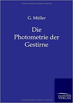 Book Die Photometrie der Gestirne