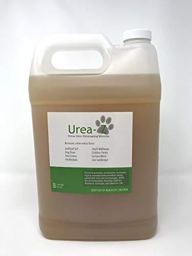 Urea-Z Urine Odor Eliminator Removes Dog Urine Odor from Artificial Turf & Patios- 1-Gallon of Highly Concentrated Urea-Z (1 Gal. of Highly Concentrated Urea-Z = 16 Gal. of Urea-Z Product at $9/Gal)