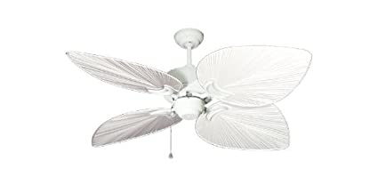 Bombay tropical ceiling fan in pure white with 50 pure white blades bombay tropical ceiling fan in pure white with 50quot pure white blades aloadofball Gallery