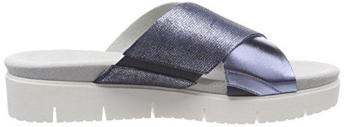 Sandales Cheville azur Shoes Comfort Femme Bleu Bride Gabor Sport jeans OfSvUWw6q