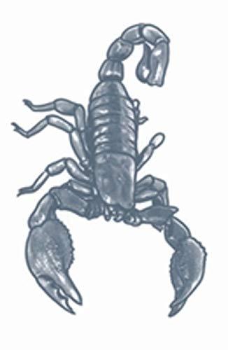 Tinsley Transfers Scorpion Prison Temporary Tattoo]()