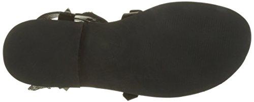 Spartiates D'azur Femme Noir Cassis Cote noir Lepic Zt5Oq