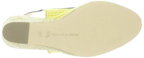 Damen Joe 50 Sister 212892 Blanc 73 amp; LOLA Marine Jaune Gelb Paul Ballerinas xRpaYq4x