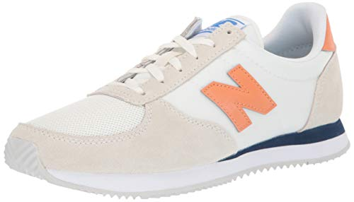 Flat Womens New - New Balance Women's 220v1 Sneaker, SEA Salt/Light Rust, 10 B US