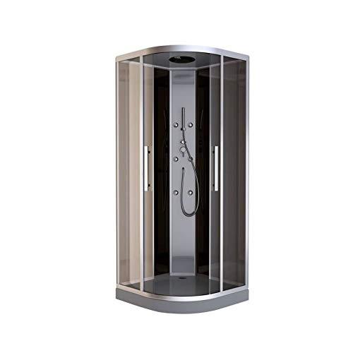 Cabina de ducha 1/4 redondo Bali 90 cm: Amazon.es: Bricolaje y ...
