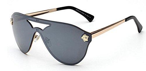 soleil inspirées vintage cercle retro métallique lunettes Noir en polarisées style Lennon de rond du Film pw0vxt5gxq