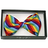 Search : Rainbow Bow Tie, Suspenders, Knee High Socks, and Arm Warmers (Punk Gothic)