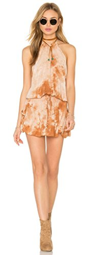 Blue Life Island Life Halter Dress (Medium, Amber Stone)