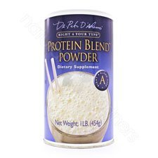 D'Adamo Personalized Nutrition Protein Blend Powder Right 4 Your Type A -- 1 lb (Best Type Of Diet)