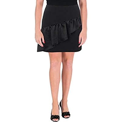 Cinq a Sept Womens Mini Tiered A-Line Skirt