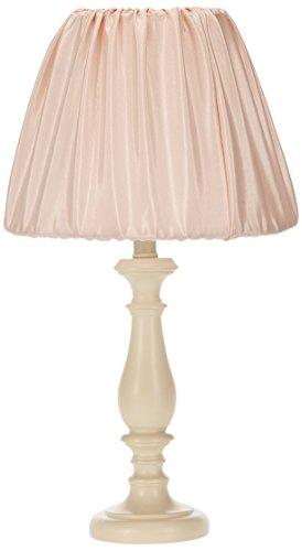 Sweet Potato Lil' Princess Lamp Base with Shade, Cream/Pink ()