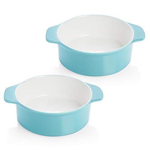 Sweese 523.202 6 Inch Round Cake Pan, Non-stick Baking Pan, Set of 2, Turquoise