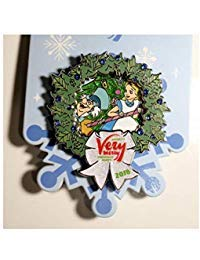 ALICE IN WONDERLAND MICKEYS VERY MERRY CHRISTMAS PARTY 2018 TRADING PIN ()