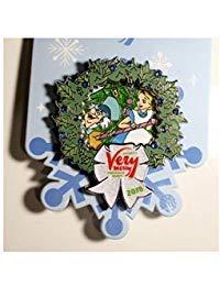 ALICE IN WONDERLAND MICKEYS VERY MERRY CHRISTMAS PARTY 2018 TRADING PIN (Very Merry Christmas Party Button)