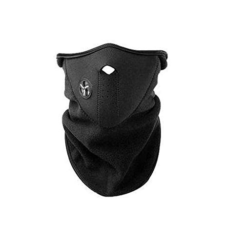LuckyStone Unisex Dustproof & Windproof Warm Neck Half Face Mask Wear for Winter Motorcycle Cycling Bike Hiking Skateboard Ski Ice Fishing Cross Country Hunting