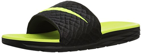 NIKE 070 's Pool Black Volt Black Benassi Solarsoft Shoes Men amp; Beach qqrTOZw