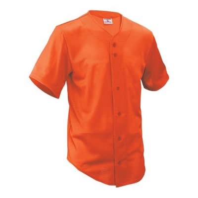 Adult Fencebuster Solid Full Button Jersey
