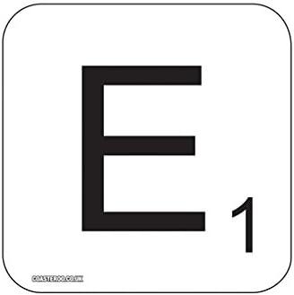 Coasteroo E Scrabble Letra – Imán para Nevera diseño de 57 mm x 57 mm – Acabado Brillante – Fun Palabra diseño de Juegos diseño: Amazon.es: Hogar