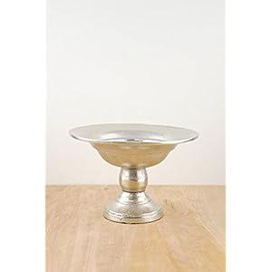 Wayhome Fair Metal Compote Silver - Excellent Home Decor - Indoor & Outdoor 29