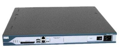 CISCO2811-AC-IP WIC-1DSU-T1-V2 PoE Power ROUTER 256D/128F ADVENTERPRISEK9 IOS - Refurbished Cisco Pwr