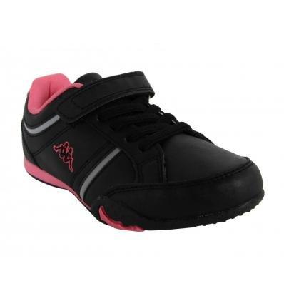 Zapatillas deporte de Niño y Niña KAPPA 302EYH0 MEZZIO 956 BLACK-WARM PINK
