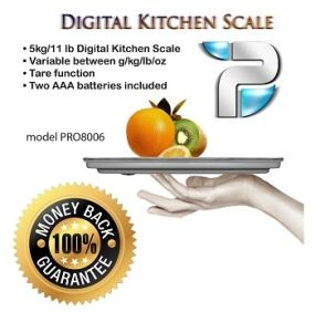 Slim Profile Food Scale