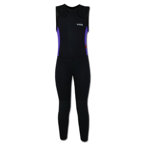 NRS Youth Farmer Bill Wetsuit - Green XS by NRS