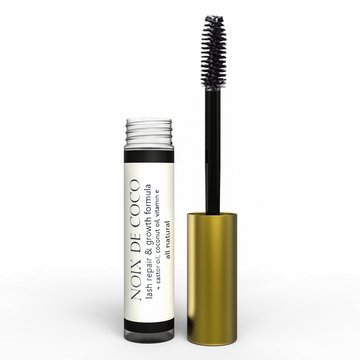 NDC Beauty Lash and Brow Conditioner - Growth and Repair Serum by Noix de Coco - All Natural, Vegan, Gluten Free, Cruelty Free - Great for Sensitive Eyes