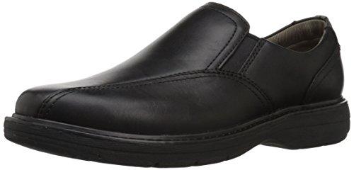 CLARKS Mens Cushox Step Slip-On Loafer Black Leather dVHhtIC8