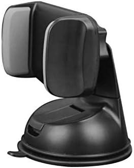 車の吸引のコップブラケット、車の電話ホールダーの空気出口の運行ブラケット360°回転式満ちる座席 (色 : Black gray)