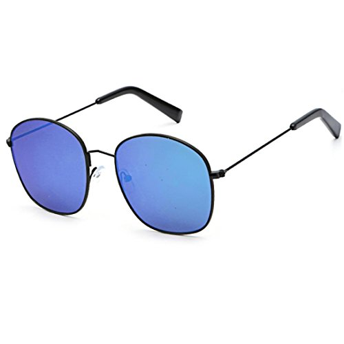 Portección Clásico Marco Espejo unisex Mujer Sol grande Gafas Gafas B de sol sol cuadradas Gafas Sunglass de de Moda Marca clásica Polarizado Lentes UV Brillo OR5qU