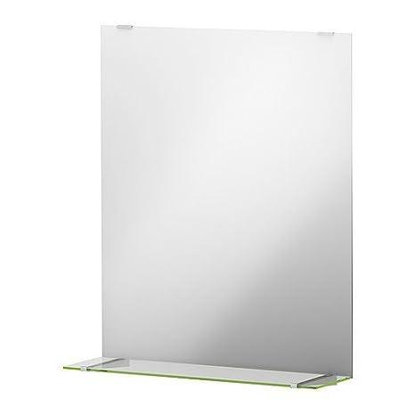 Ikea Specchio Bagno Con Luce.Ikea Fullen Specchio Con Mensola 50 X 60 Cm Amazon It