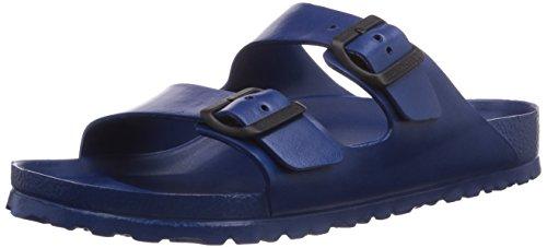 - Birkenstock Unisex Arizona EVA Dual Buckle Sandals, Navy - 38 N EU