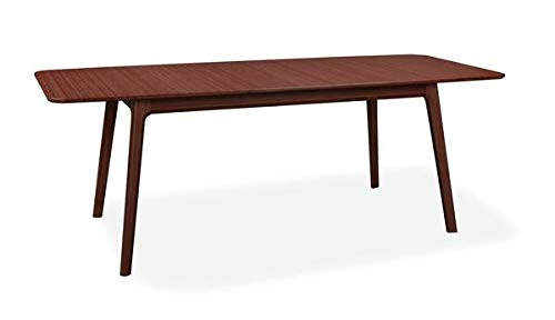 Extending Office Desk or Conference Table in Solid Bamboo with Caramelized Finish