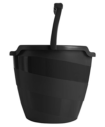 Joy Mangano New Miracle Mop Bucket, Black - New Mop