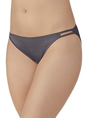 (Vanity Fair Women's Illumination Plus Size Bikini Panty 18810, Steel Violet, 3X-Large/10)