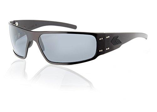 Gatorz Unisex Adult Magnum Polarized Blackout Sunglasses Smoked (Mens Magnum)