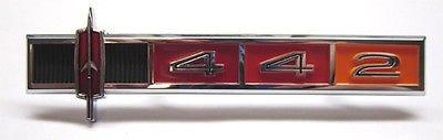 Emblem Cutlass Oldsmobile - The Parts Place Oldsmobile Cutlass / 442 Dash Panel Emblem