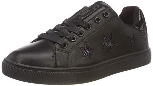 Dockers by Gerli Women's 38pd209 Low-Top Sneakers, Black (Schwarz 100), 7 UK 7 UK