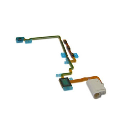 CELL PHONE CITY - Headphone Audio Jack Volume Button Flex Ribbon Cable For iPod Nano 7 7G 7th Gen