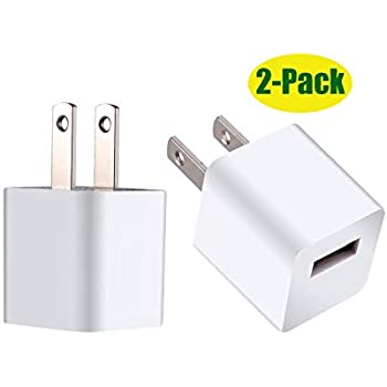 Amazon.com: Wall Charger Cube Power Adapter Plug Charging ...