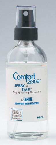 Comfort Zone with DAP for Dogs Spray, 60 Milliliters