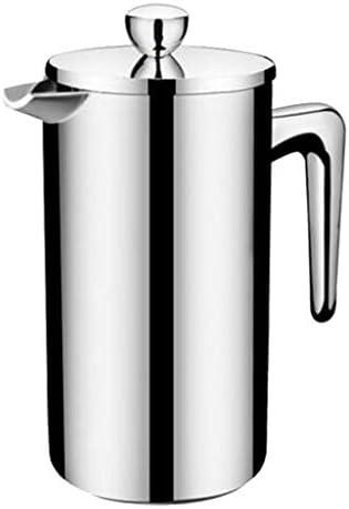 コーヒープレス プランジャ コーヒーメーカー ステンレス製 二重壁 全3容量 - 350ミリリットル